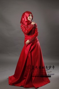 Jia Mila Hui Muslim wedding JIAMILA Muslim Wedding GownL dark JMLF014