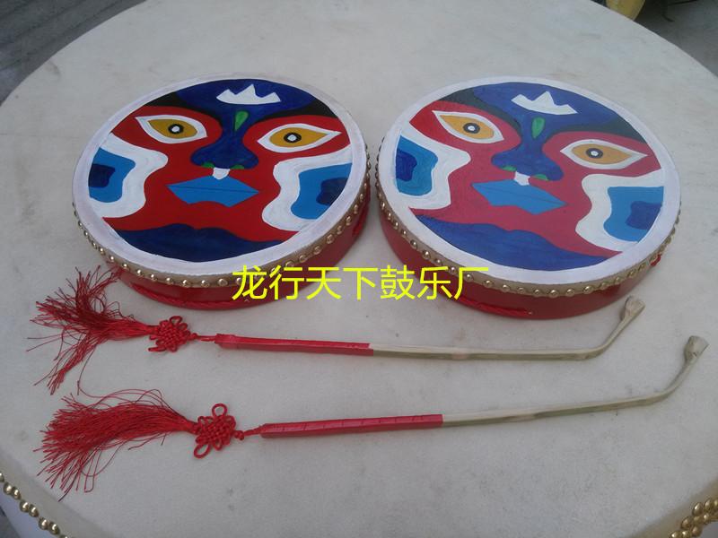 Продаётся напрямую с завода бодхисаттва полный бог барабан окрашенный сцепление барабан синьцзян рука барабан культура король барабан два бог барабан отдавать барабан кнут