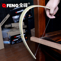 Pull saw wire saw wire saw wood bow saw woodworking saw hand saw U-shaped steel wire curve saw small saw