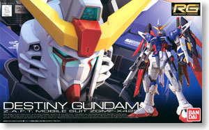 Bandai RG 11 Destiny Gundam destiny up spot