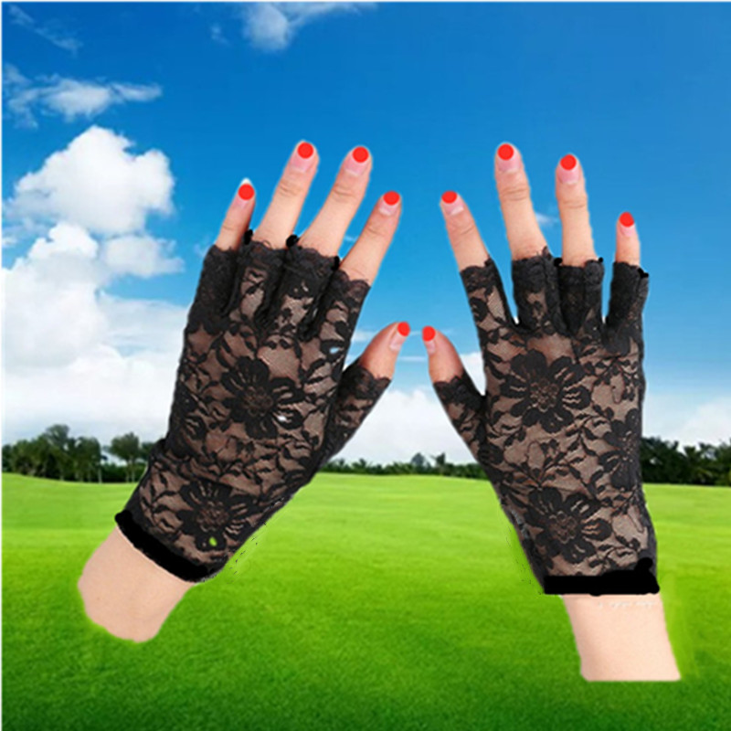 Женские перчатки без пальцев Артикул 564512387089