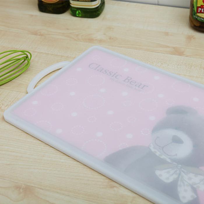 韩国进口家用 纳米抗菌塑料砧板切水果加厚案板切菜板切肉板菜板10月11日最新优惠