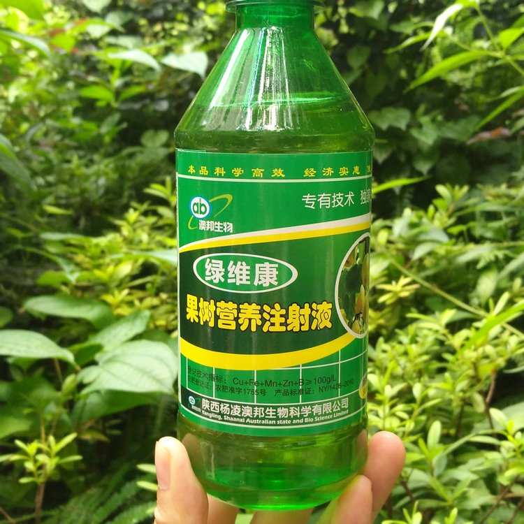 Aoshida lvweikang fruit tree nutrition injection special repair agent for hanging bag peach pear jujube