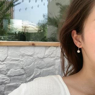 Keria一顆漿果韓國氣質温柔小珍珠糰子耳墜耳環小巧迷你耳釘耳夾