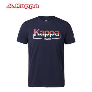 Kappa/背靠背正品包邮卡帕新款夏季男T恤时尚帅气透气休闲短袖T恤