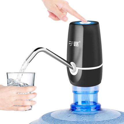 桶装水抽水器矿泉饮水机出水家用电动纯净水桶按压水器自动上水泵