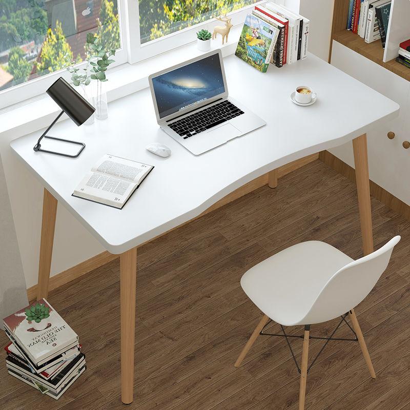 北欧书桌电脑桌家用学生台式桌现代卧室简约写字桌简易办公小桌子