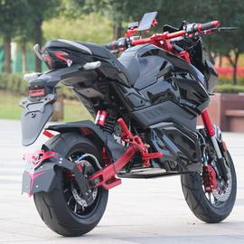 電動摩托車新款Z6跑車暴改電摩m6成人電瓶車72V女街車高速電動車圖片