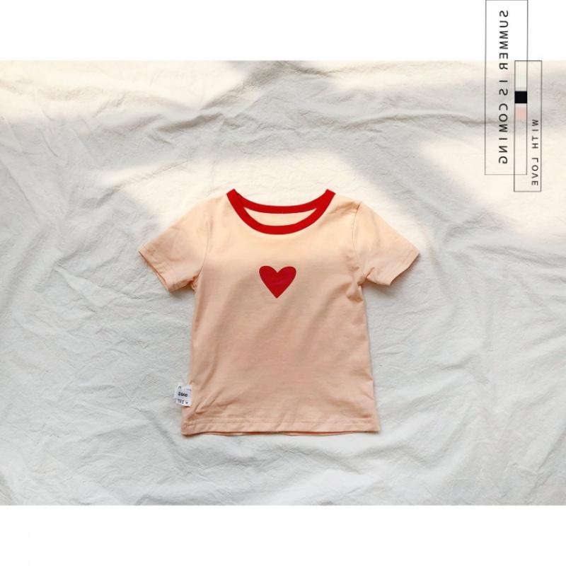 新品儿童装2018夏季男女童全幼儿园最可爱短袖T恤宝宝纯棉班服上