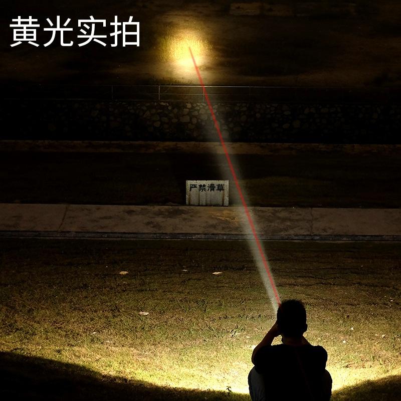 led强光头灯可充电超亮头戴式黄白光3000米打猎户外防水激光(用61元券)
