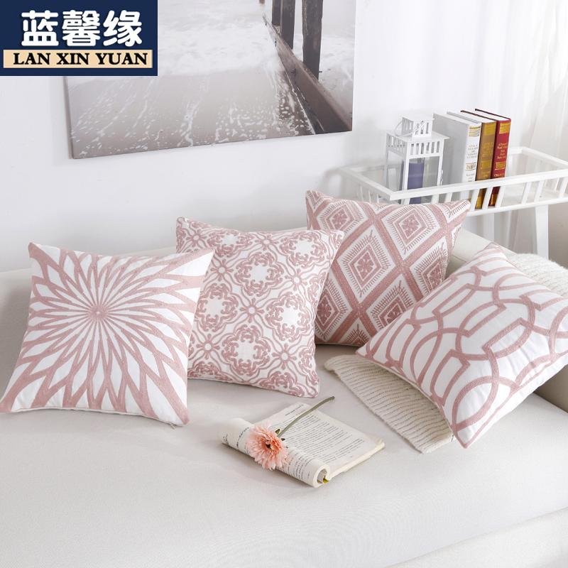 北欧简约风客厅沙发床头靠背抱枕11月12日最新优惠