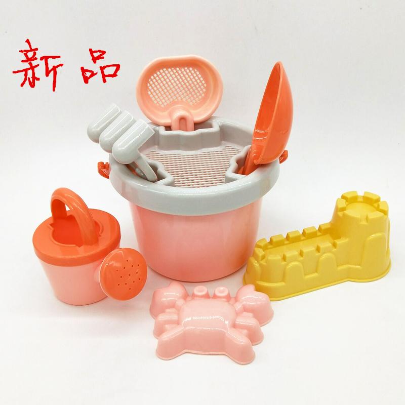 出口儿童沙滩玩具套装宝宝大号玩沙子玩具挖沙工具铲子玩雪铲水桶