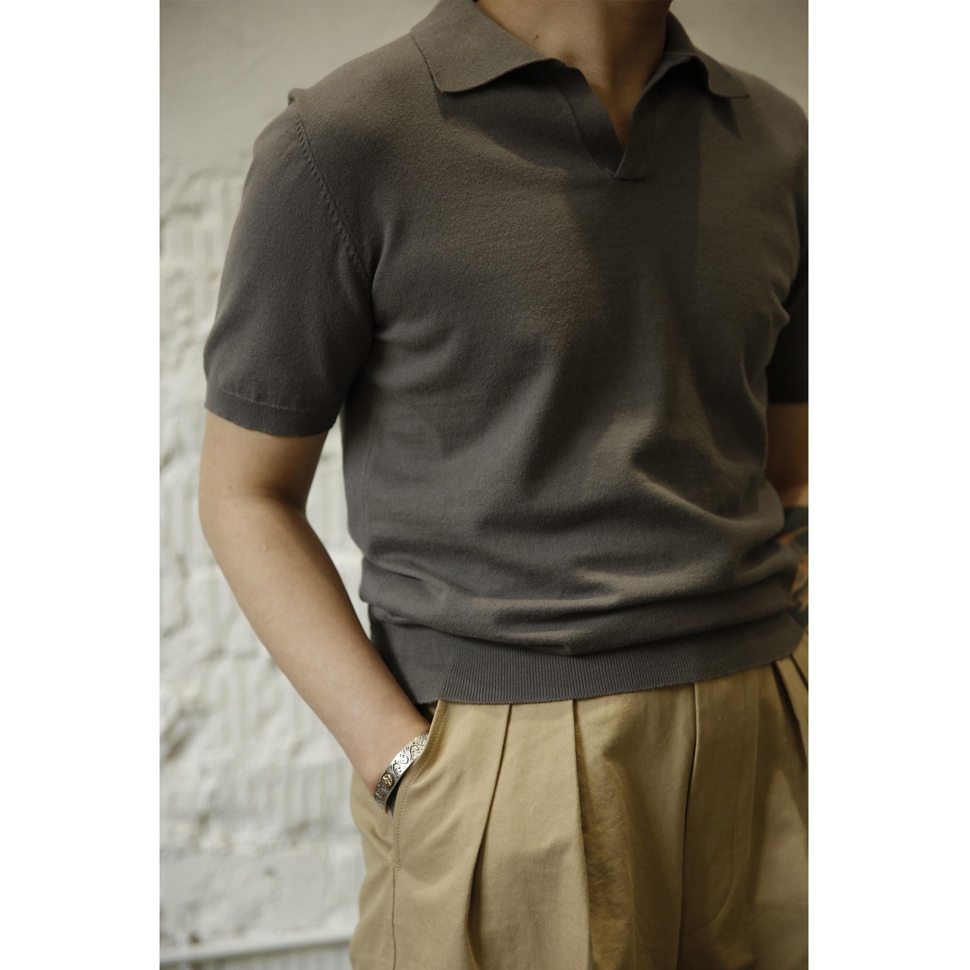 中國代購 中國批發-ibuy99 polo������ Labour union意式马球polo针织短袖T恤优雅精致LU141
