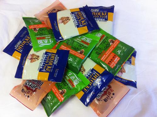 狗粮试用装多个口味40gX20袋左右约800g左右金毛泰迪贵宾比熊