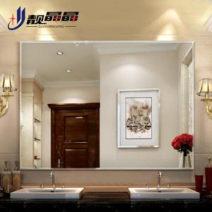 靓晶晶住宅家具浴室镜 壁挂无框斜边卫浴镜 卫生间洗漱洗手间镜子