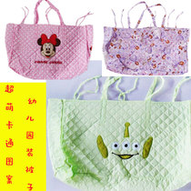 Foreign trade original cloth kindergarten mother quilts quilt quilting storage packaging bag big bag