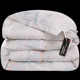 新雪丽高效暖绒被芯 全棉磨毛加厚保暖双人冬被 纯棉被子单人被褥