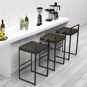北欧crea设计师现代简约家用酒吧椅