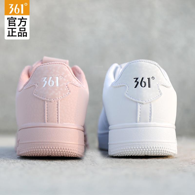 361情侣小白鞋男运动鞋女冬季板鞋樱花空军一号ins潮鞋子男鞋女鞋