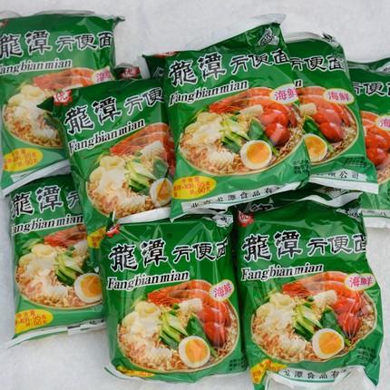 老北京方便面密云龙潭方便面 干脆面涮锅面 儿时味道 海鲜味 24袋