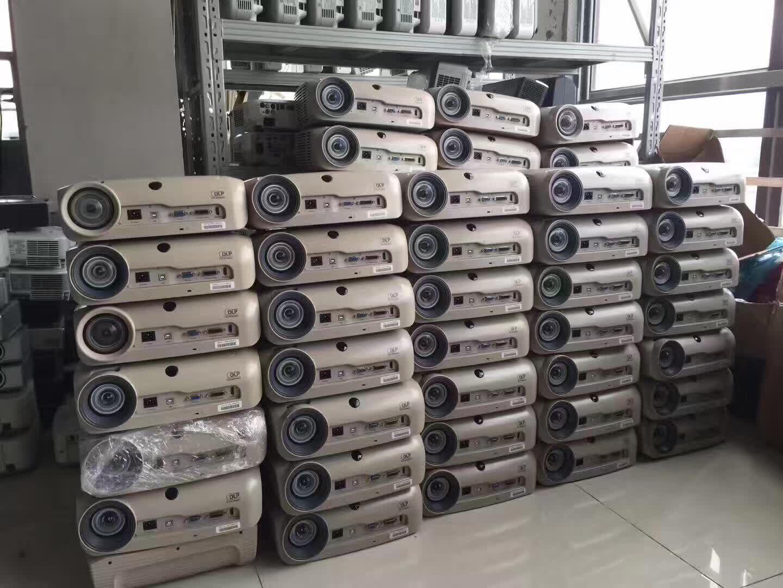 二手投影机1080P商务办公高清家用超短焦投影仪2600流明3M SCP725