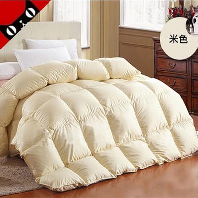 羽绒被95白鹅绒冬被芯春秋被子加厚冬季单双人白鸭绒棉被特价正品