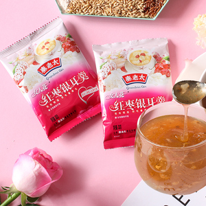 [官方自营]秦老太红枣银耳羹女人花莲藕粉0脂早餐速溶代餐小袋装
