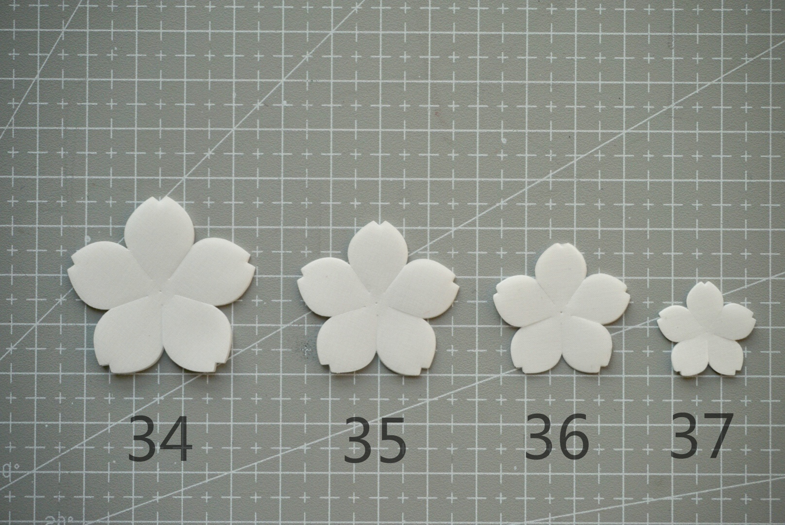 [immortals make flowers] - Cherry Blossom make flowers and scald cloth flower slice