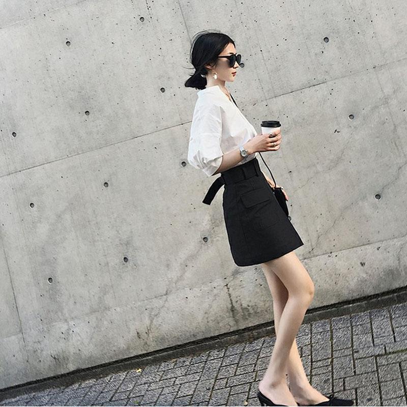 热销23件买三送一2019新款夏季小香风气质时尚套装女俏皮洋气小清新短裙显瘦两件套