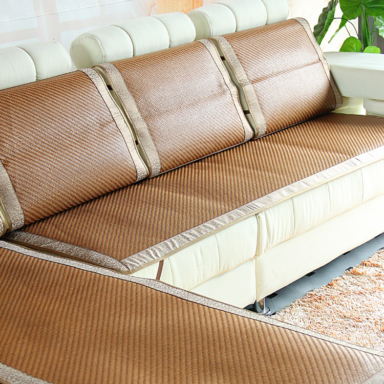 Cny 60 00 Summer Sofa Cushion The Liangdian Mat Leather Sofas Ice Silksand Fat Pad