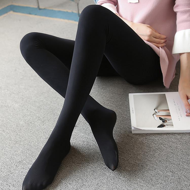 特肥胖人女装秋季连裤袜 200斤胖MM加肥加大码踩脚袜裤薄款打底裤