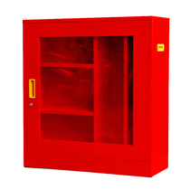 Fire Cabinet Fire Box Fire Toolbox Cabinet Fire equipment locker fire protection combination set miniature fire station