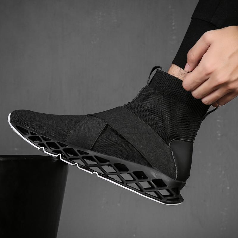 弹力袜子鞋高帮百搭嘻哈运动男男鞋