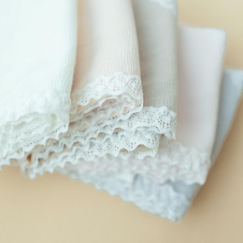 10月16日最新优惠3条宅小惑内裤女蕾丝边少女日系甜美中腰棉质面料可爱棉裆三角裤