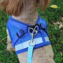狗狗牵引绳大中小型犬背心式胸背带狗链绳子宠物遛狗泰迪猫咪用品
