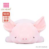 LIVHEART猪抱枕公仔毛绒玩具床上睡觉抱睡安抚玩偶可爱大娃娃女生