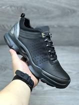 091504健步鞋舒适缓震牛皮系带透气bion男鞋低帮户外运动跑步鞋