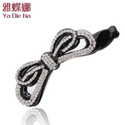 Ya na Japanese and Korean popular headwear hair jewelry Butterfly first holder banana clip vertical clamp Q0571