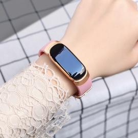 智能手表女华为苹果通用防水血压计步运动考试专用电子手环学生