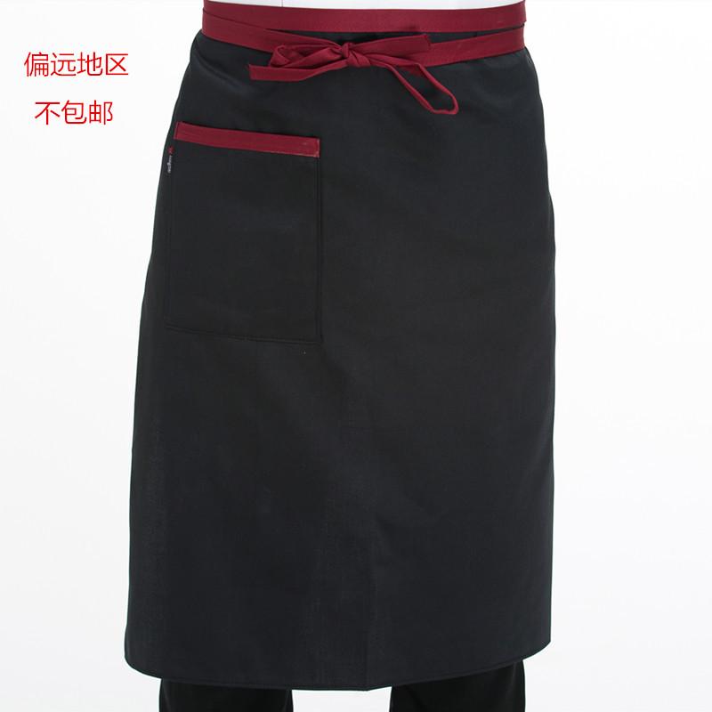 コックエプロンホテルの後厨房の半身エプロンはあぶって腰の半分のエプロンの従業員のレストランのエプロンをあぶります。