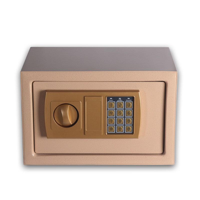 2018新款焊斧机械保险柜40cm防盗防撬保险箱办公家用床头可入墙保