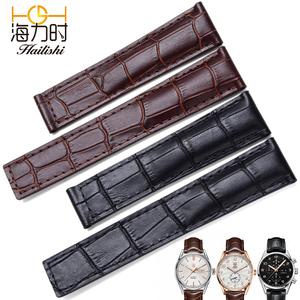 海力时 代用泰格豪雅表带真皮男豪雅卡莱拉手表表带传承6 16 1887