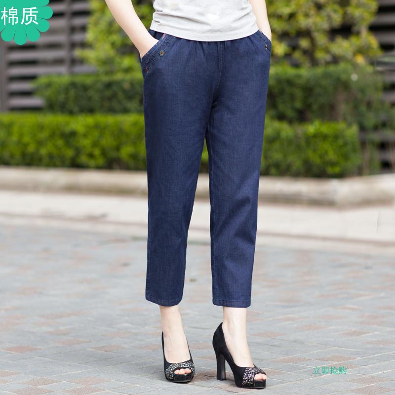 中老年女装夏装裤