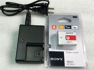 BG1电池 WX10 W300 HX5C相机NP W210 H10 索尼DSC H50 充电器 H70