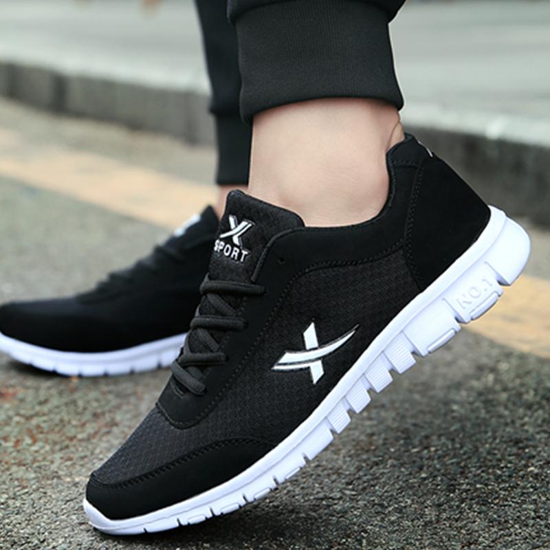 Лето обувь 2017 новый меш спортивной обуви мужчина корейская волна струиться воздухопроницаемый студент ткань обувная мужской обувь casual сын