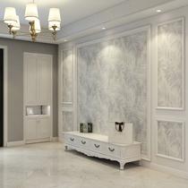 美国进口纯纸壁纸美式轻奢木纤维现代简约菱形几何图形客厅墙纸