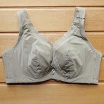 光面软钢圈上托防下垂背心式文胸 全罩杯大胸显小大码内衣女B C杯