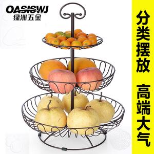 水果盘篮创意客厅欧式家用大号装
