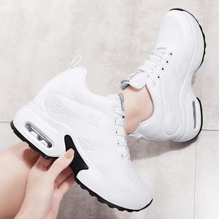 增高广场跳舞鞋软底白色四季女鞋厚底运动曳步舞蹈鞋专用鬼步舞鞋