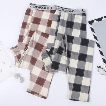 男加绒性感潮流韩版打底修身秋裤